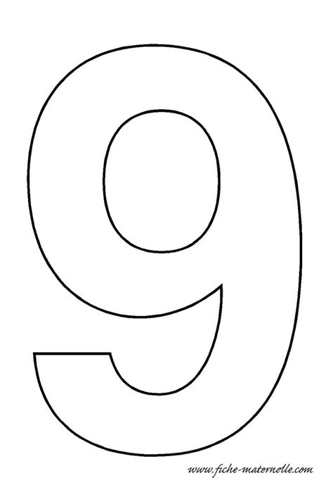 number 9 cake template number 9 template crafts and worksheets for preschool