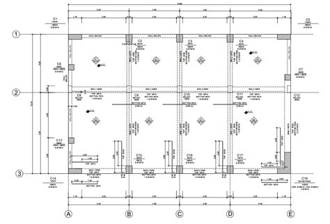 structure drawing st 5 cad standard unified international cad standard