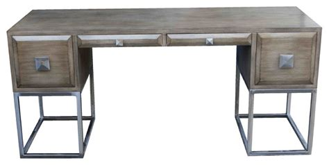 transitional desk grant desk contemporary desks and hutches by mortise