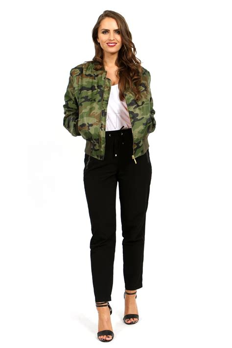 Jaket Bomber 26 womens vintage bomber jacket plus size us army