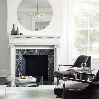 black and white fireplace living rooms modern marble fireplace design ideas