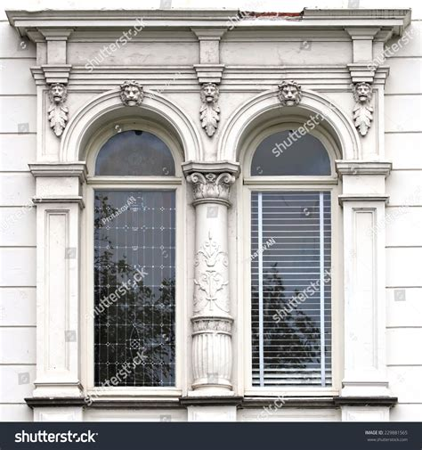 architecture windows ancient renaissance style classical stock photo 229881565