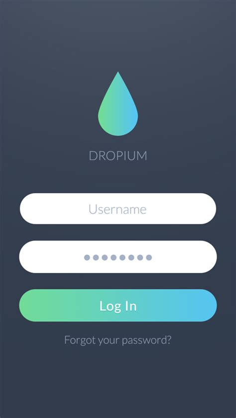 jquery mobile login page template sign in login ui designs inspiration graphic design