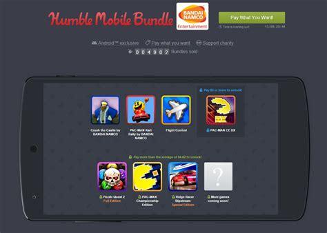 bandai namco mobile humble mobile bundle mit bandai namco