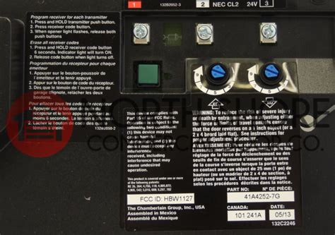 Craftsman 41a4315 7d Garage Door Opener Circuit Board by Craftsman 41a4315 7d Garage Door Opener Circuit Board