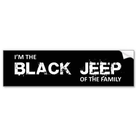 jeep family stickers fgd i m the black jeep of the family