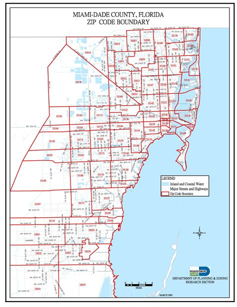 miami zip code map miami dade zip code map miami real estate maps and