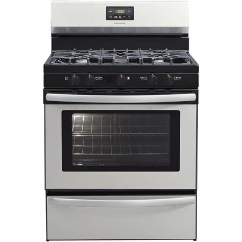 frigidaire 5 burner gas cooktop frigidaire 30 in 4 2 cu ft gas range with 5 burner