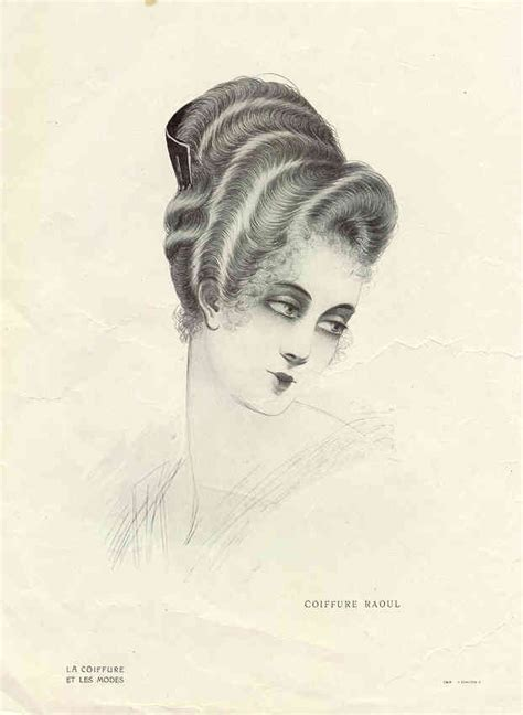 Typical Womans Hairstyle From 1918   1918 hair styles hairstylegalleries com