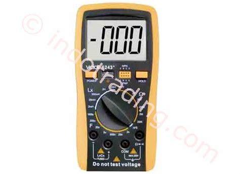 Jual Multimeter Victor jual digital lcr meter victor 6243 harga murah jakarta oleh toko karya nusatama