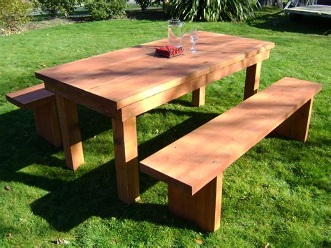 outdoor table with benches wooden patio table and benches jvshf cnxconsortium org