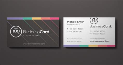 ceo business card template corporate business card vol 5 business cards templates