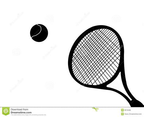 Promo Raket Tenis Silhouetee tennis racket royalty free stock image image 8618486