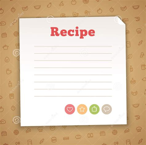 blank recipe card template 15 recipe card designs design trends premium psd