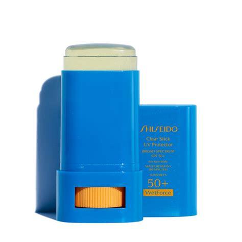 Shiseido Sunscreen clear stick uv protector wetforce spf 50 shiseido