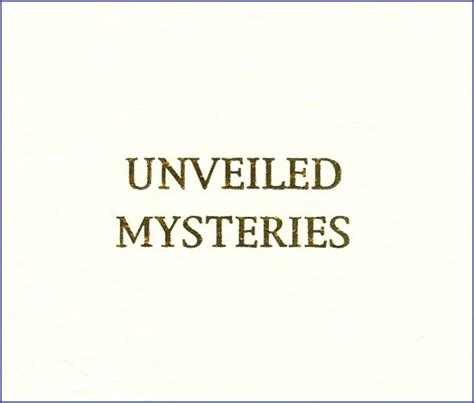 unveiled mysteries books unveiled mysteries amtf