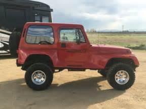 94 Jeep Wrangler 94 Jeep Wrangler Renegade 5 7 350 V8 Auto 4x4 Shackle