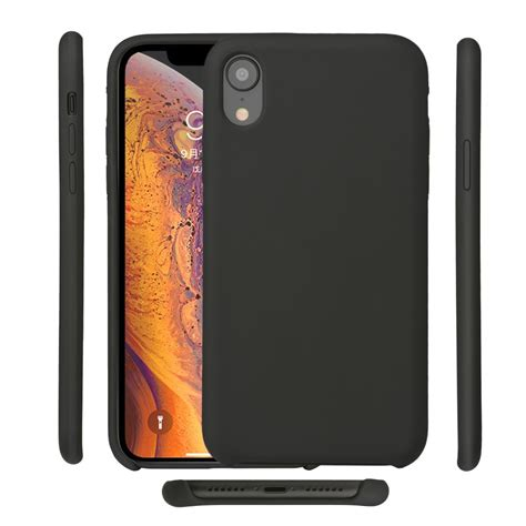 for iphone xr silicone official original for apple iphone xr 6 1 inch liquid protective