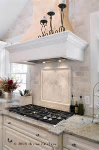 tumbled marble backsplash kitchen traditional with none