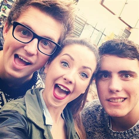Or Zoella And Alfie Zoella Alfie Youtubers