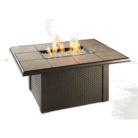 wicker pit table napa valley pit table wicker
