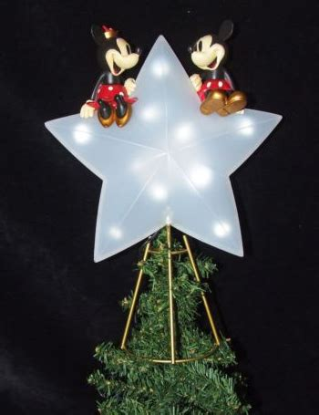 mickey and minnie christmas tree topper mickey mouse tree topper for your tree
