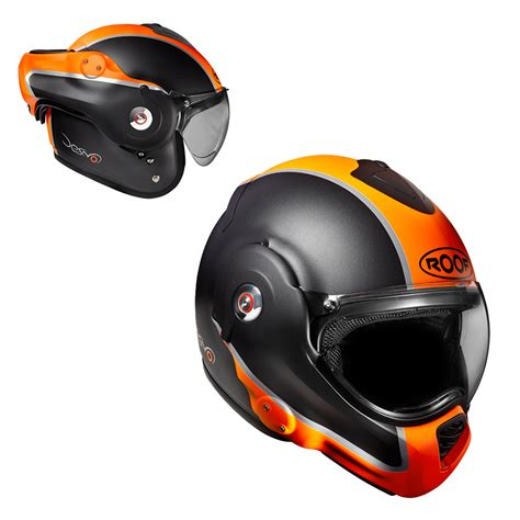 Motorradhelme Orange by Motorradhelm Roof Desmo Flash Mat Orange Insportline