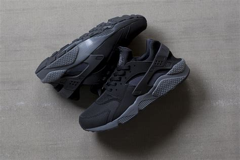 Nike Air Huarache Black Grey nike air huarache black grey the sole supplier