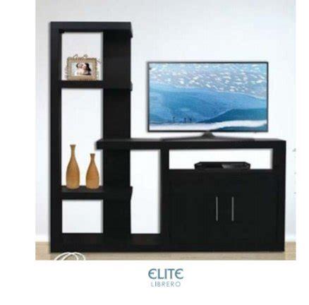 librero y tv librero con mueble para tv elite endomex