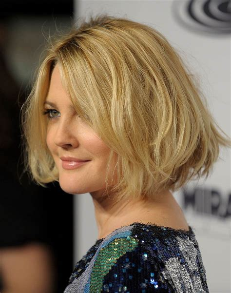 bob hairstyles drew barrymore drew barrymore s hair evolution from e t to big shot