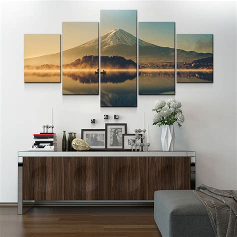 large modern canvas wall large canvas wall 5 panel modern painting and prints