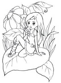 раскраски для девочек аквариум с рыбками