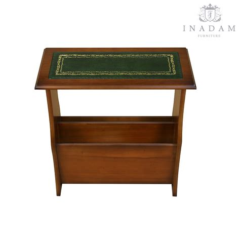 furniture magazines inadam furniture magazine table with leather top mahogany or yew reproduction furniture