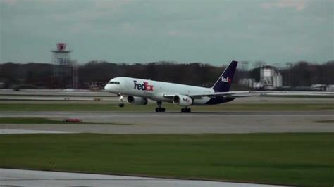 What A Surprisefedex Is by Fedex 757 Takeoff