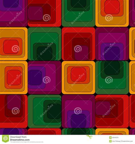 retro vivid square pattern stock vector stock photos bigstock retro vivid square pattern vector illustration