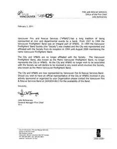 vfrs band letter to organizations 187 vancouver and