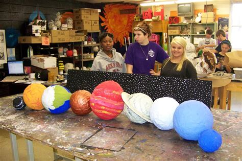 How To Make Paper Mache Planets - papier mache planets page 2 pics about space