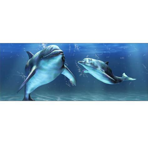 papier peint t 234 te de lit dauphins d 233 co stickers