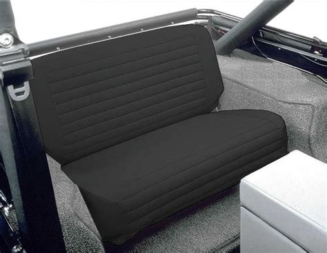jeep wrangler front bench seat bestop fold tumble rear bench seat cover for 65 95 jeep