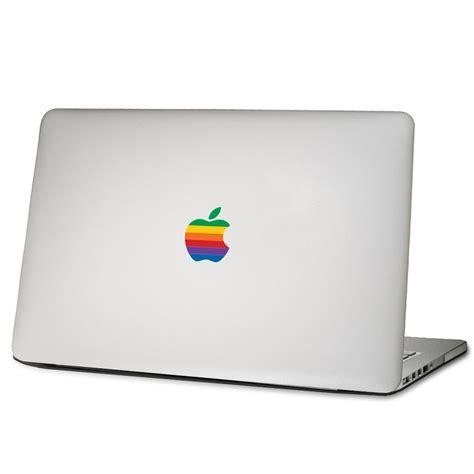 Apple Logo Aufkleber Bunt by สต กเกอร โลโก แอปเป ลส ร ง Retro Apple Logo 6 ขนาด