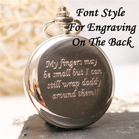 Wedding Engraving Font by Pocket With Engraved Initials By Giftsonline4u
