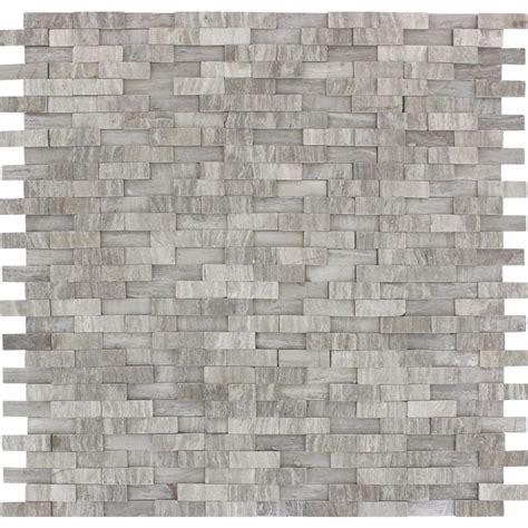 mosaic tile ms international flooring 12 in x 12 in ms international white oak splitface 12 in x 12 in x 10