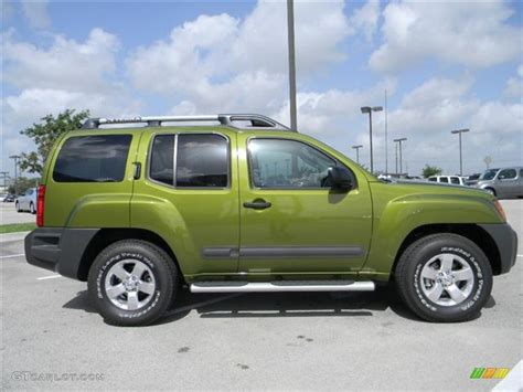 nissan xterra 2011 2011 metallic green nissan xterra s 57873184 photo 4