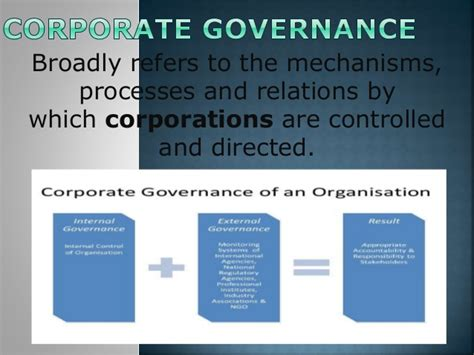 Mba Corporate Governance Notes by Corporate Governance And Management Structure Inside Company