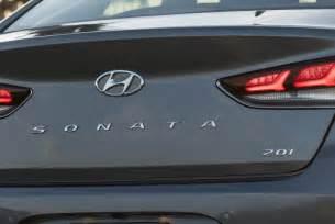 Hyundai Sonata 2 0 T Limited Review 2018 Hyundai Sonata Drive Review And Impressions