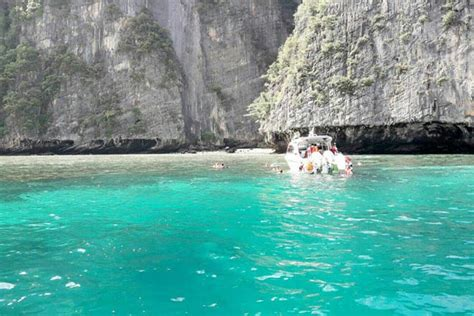 half day boat tour phuket phi phi island tour by speed boat half day phuket day