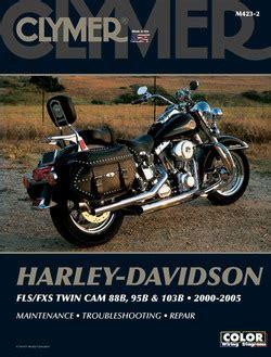 Clymer Manual Harley Davidson Fls Fxs Twin Cam 88b 95b