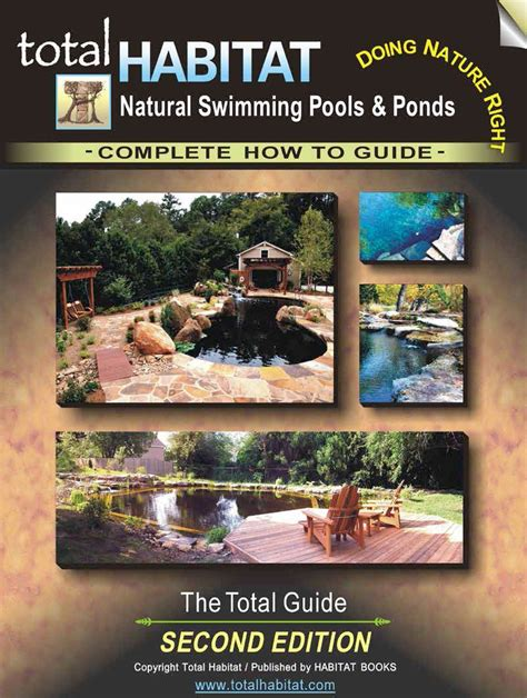 design guidelines the ponds natural swimming pools and ponds the total guide 2nd