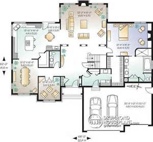 house plans with floor master house plan w2661 detail from drummondhouseplans com