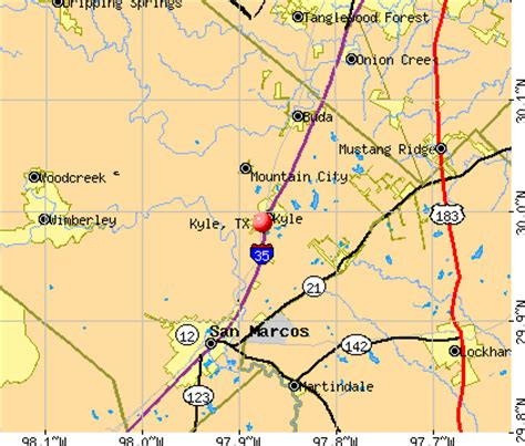 kyle texas map kyle texas tx 78640 profile population maps real estate averages homes statistics
